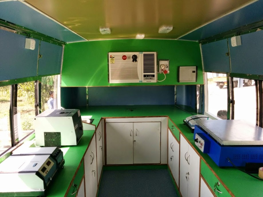Elico Mobile Soil Testing Lab